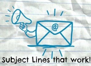 How to Write Effective Subject Lines